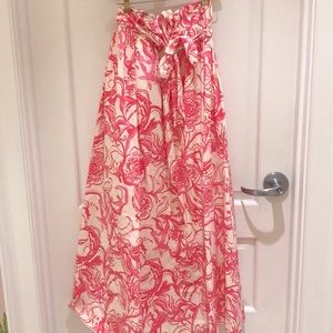 Lilly Pulitzer Maxi Skirt, size 2